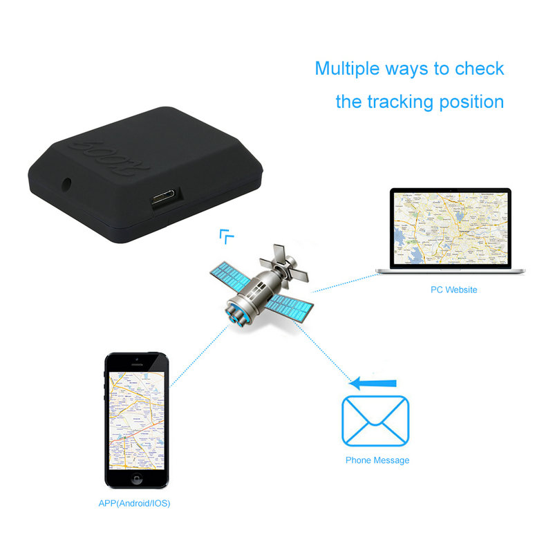 Mini Mi Type SIM TF Card GSM Car Vehicle GPS Tracker SOS Calling Anti-Lost Tracking Alarm for Cars kids pets mini gsm gps tracker for kids elderly personal sos button track with two way communication free platform app alarm