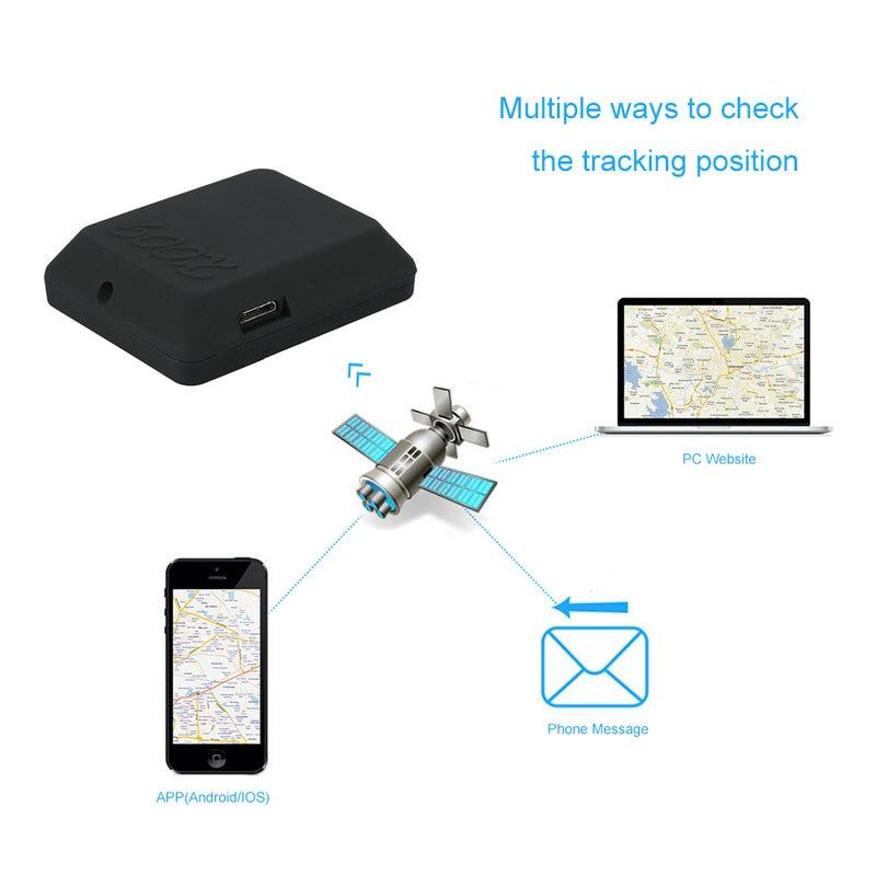 Mini Mi Type SIM TF Card GSM Car Vehicle GPS Tracker SOS Calling Anti-Lost Tracking Alarm For Cars Kids Pets Location Track