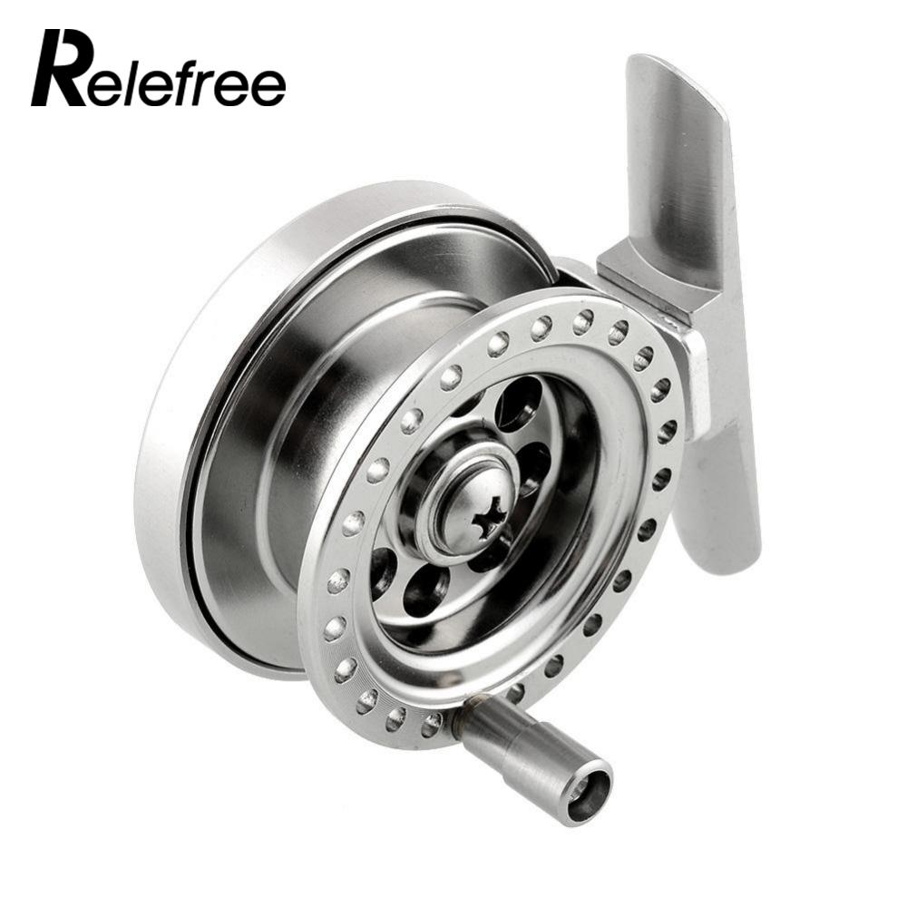 Relefree Firm Aluminum Alloy High Quality Sea Ice Fly Flies Fishing Line Wheel Skillful Fish Reel NEW