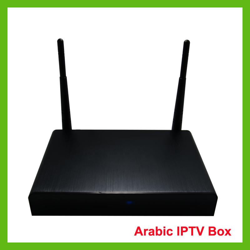 Prix pour Arabe IPTV, livraison DHL,> 400HD chaînes arabes avec les derniers films HD, 2 ans observation Libre, loolbox meilleure boîte de tv arabe