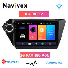 Navivox Android 9.0 Car Radio 2 Din Car DVD GPS For kia k2 Rio 2010 2011 2012 2013 2014 2015 2016 2017 Radio Tape Recorder Navi funrover android 8 0 9 2 din car multimedia dvd player radio tape recorder for kia k2 rio 2010 2016 wifi gps navigation navi fm