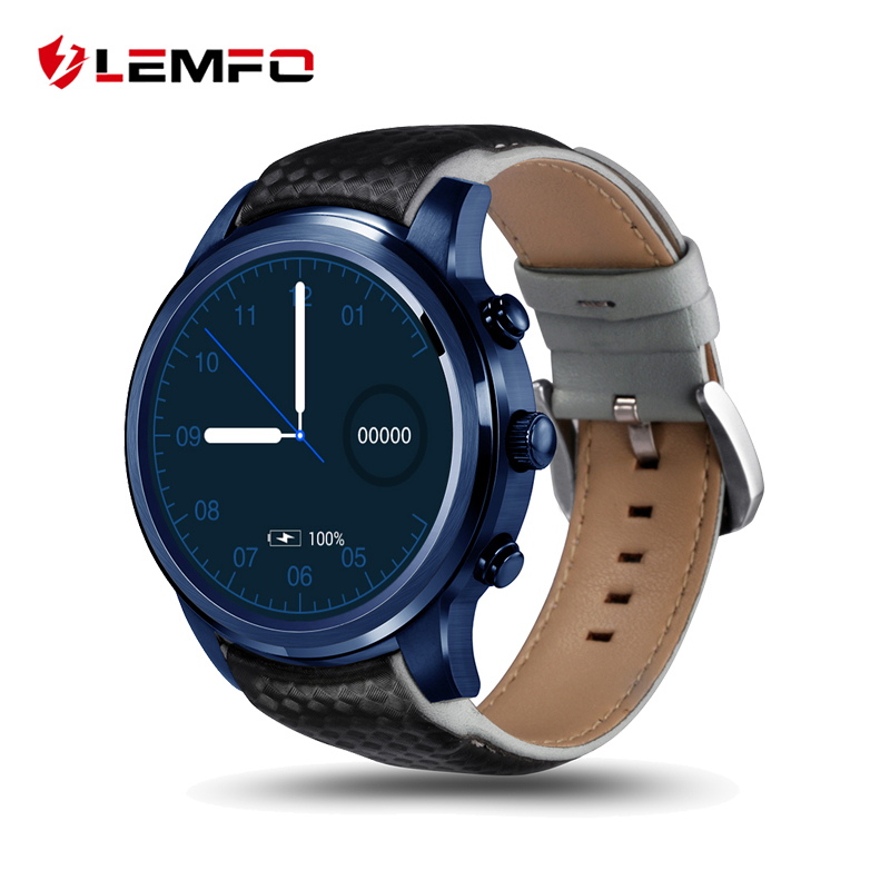 LEMFO LEM5 Pro Android 5 1 Smart Watch Phone 2GB 16GB Support SIM Card GPS WiFi