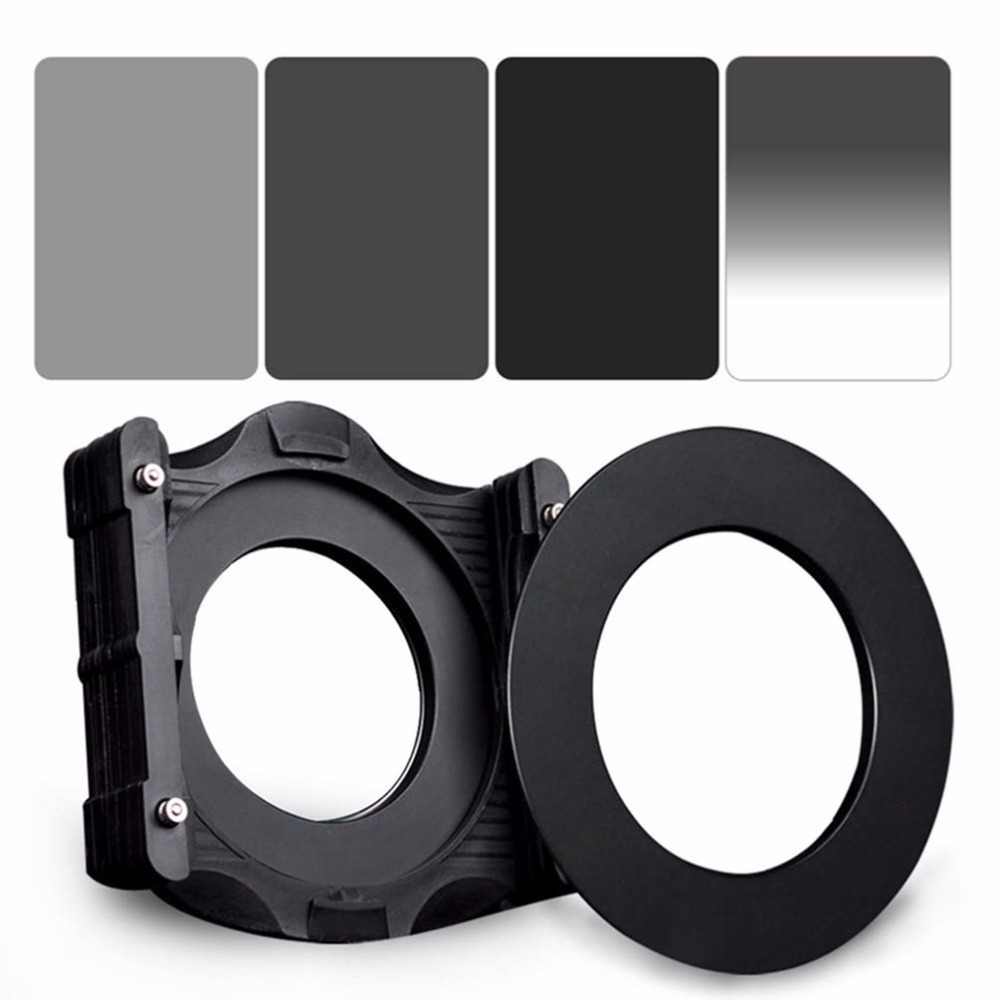 ZOMEI 6in1 Filter Kit 67mm Ring + Holder + 150x100mm Gradual ND4 + Full ND2+ND4+ND8 Neutral Density Square ND filter for Cokin Z флизелиновые обои sirpi grande corniche 22124