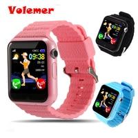 Volemer V7K Kids Children Smart Watch Phone GPS LBS AGPS Voice Call GPS Tracker Life Waterproof