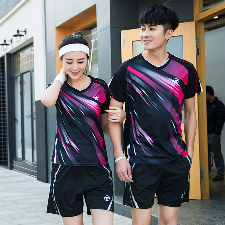 2018 New Men Tenis Mujer, Quick-drying Breathable Tennis Shirt, Training Tennis Team Clothes , Badminton Clothes , Zumaba