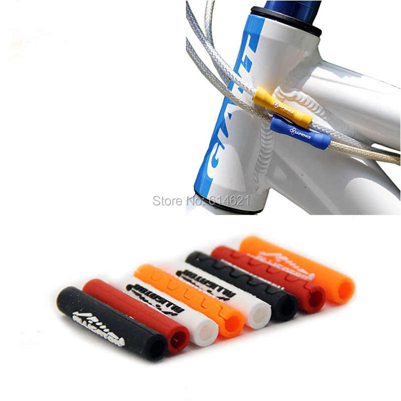 10Pcs Bike Outer Brake Gear Cable Wrap Protector Bicycle Accessories Useful