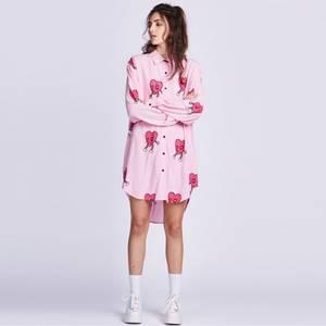 ec4953eae15 Zoel Women Blouse Plus Size Shirt Chiffon Long Sleeve Top