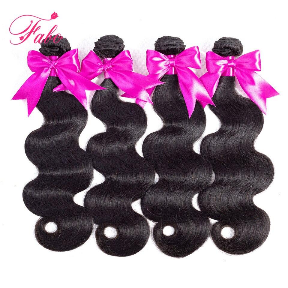 HTB1pOd GHGYBuNjy0Foq6AiBFXaX Fabc Hair Brazilian Body Wave 3 Bundles With Frontal Human Hair Weave Bundles 13x4 Lace Frontal Middle Ratio Non-remy