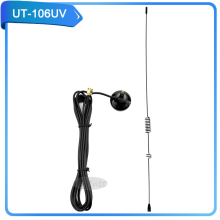 UT-106UV walkie talkie baofeng antenna SMA-Male two way radio mobile car charger UT-106UV antenna SMA-M accessories