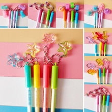 1pc Cute Erasable Pen With Vanishing Ink School Supplies Black Kawaii Pendant  Korean Stationery 0.5mm