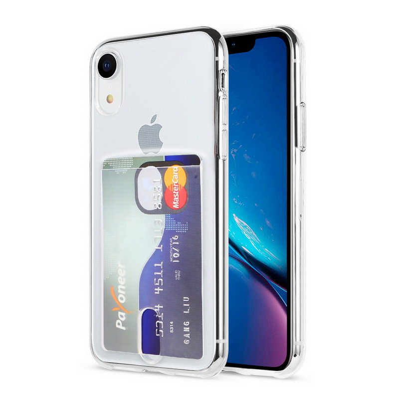 Transparent Soft TPU Card Holder Case for iPhone 11/11 Pro/11 Pro Max 28