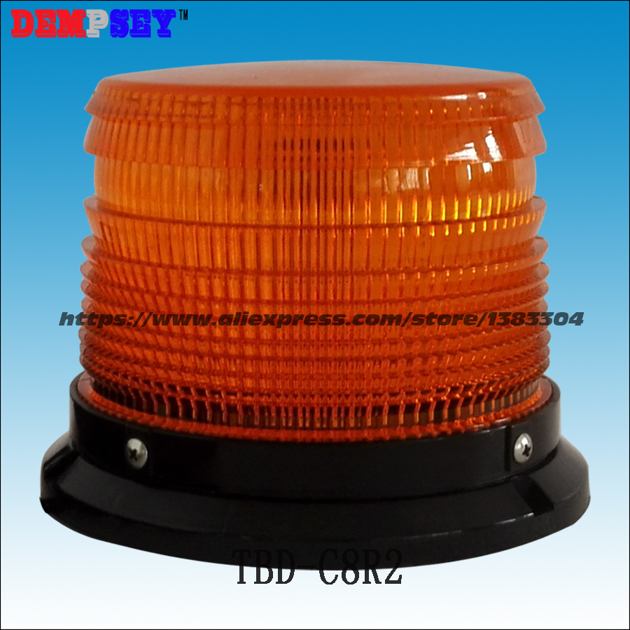 TBD-C8R2 High power Magnetic Mounted Police strobe beacon, DC12-36V Amber Xenon Strobe light, a975got tbd b a975got tba ch a975got tbd ch touch pad
