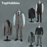 VORTOYS V1005 1 6 The British Gentleman Suit 2 0 In A Black B Gray C