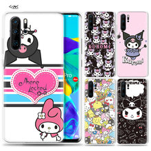 Case for Huawei P30 P20 P10 P9 Mate 10 20 Lite Pro Mobile Cell Phone Bag P Smart Z 2019 Plus Kuromi P8 P30Pro P20lite P10Lite(China)