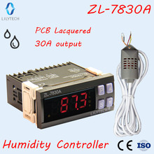 ZL-7830A, humidity controller for incubator,egg incubator controller,humidity controller,egg hatcher,lilytech egg incubator intelligent temperature humidity controller with thermo hygrostat greenhouse reptile terrarium