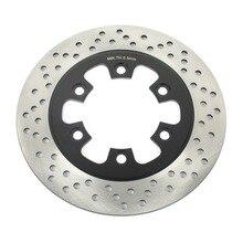 BIKINGBOY Rotor de disco de freno trasero, 230mm, para HYOSUNG GT 125 R 06 14 Naked 03 12 GT 250 / Comet GT 250 R GT 650 R / Sport / X