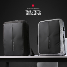 New 2018 Anti-thief USB Recharging Men Travel Backpack