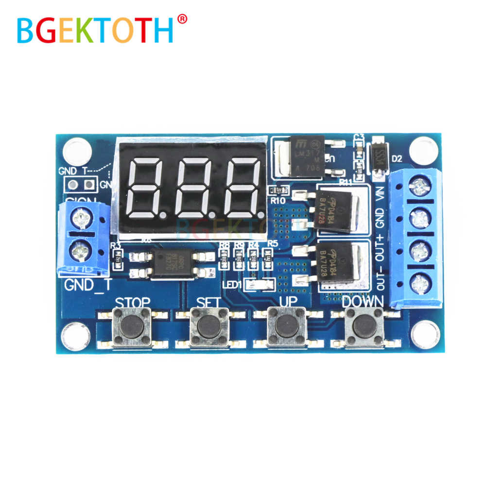 Detail Feedback Questions about Trigger Cycle Timer Delay Switch 12