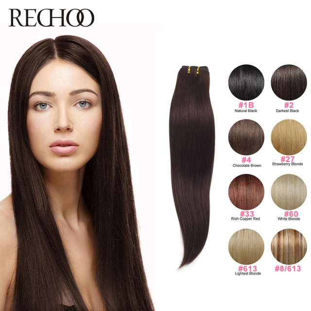22 Inch Brazilian Straight Hair Weave 100gpc Remy Human Hair