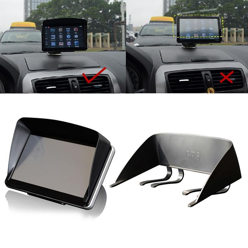 7 Inch Car GPS Navigator Sun Shade Sunshade Shield Visor Anti Glare Car Accessories
