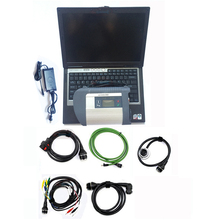 купить Professional auto diagnosis tool MB Star C4 Sd Connect with software 2019.07 320gb hdd multi-languages sd connect d630 laptop 4g дешево
