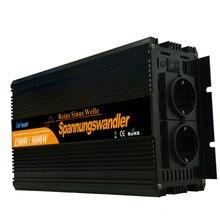 DC 24 В auf 230 В 1500 3000 Вт макс синус инвертор spannungswandler wechselrichter удаленного