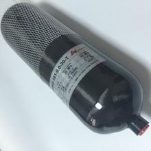 2016 Новое Обновление 9Л Черный HP Углеродного Волокна Дайвинг Танк/PCP Пейнтбол Танк-