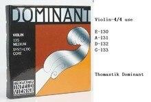 2 Unidades Thomastik dominante violín cuerdas 135 cuerdas Medium 4/4 envío gratis