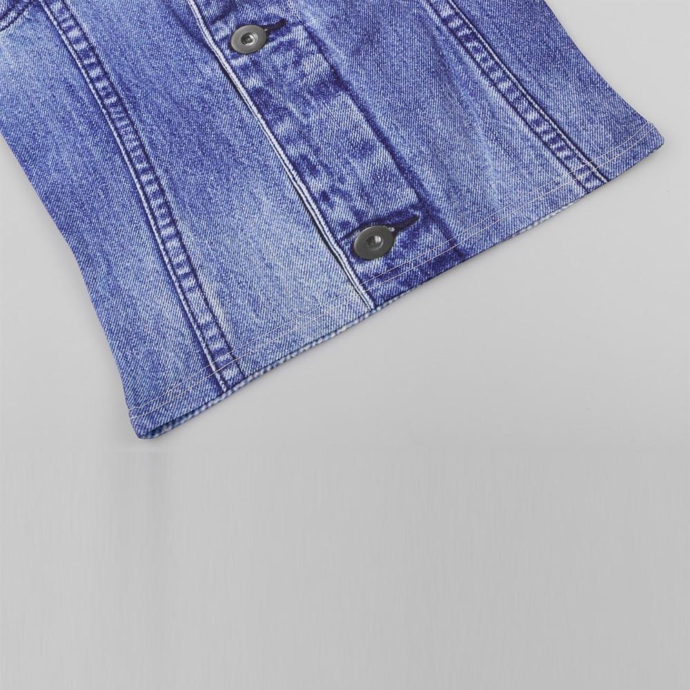 KYKU Jeans T-shirt Kişi / qadın Saxta T Köynək Əyləncəli - Kişi geyimi - Fotoqrafiya 5