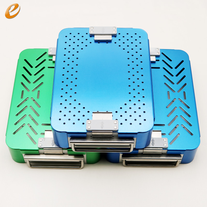 Medical disinfection box aluminium alloy Cosmetic and plastic surgery instruments and tools