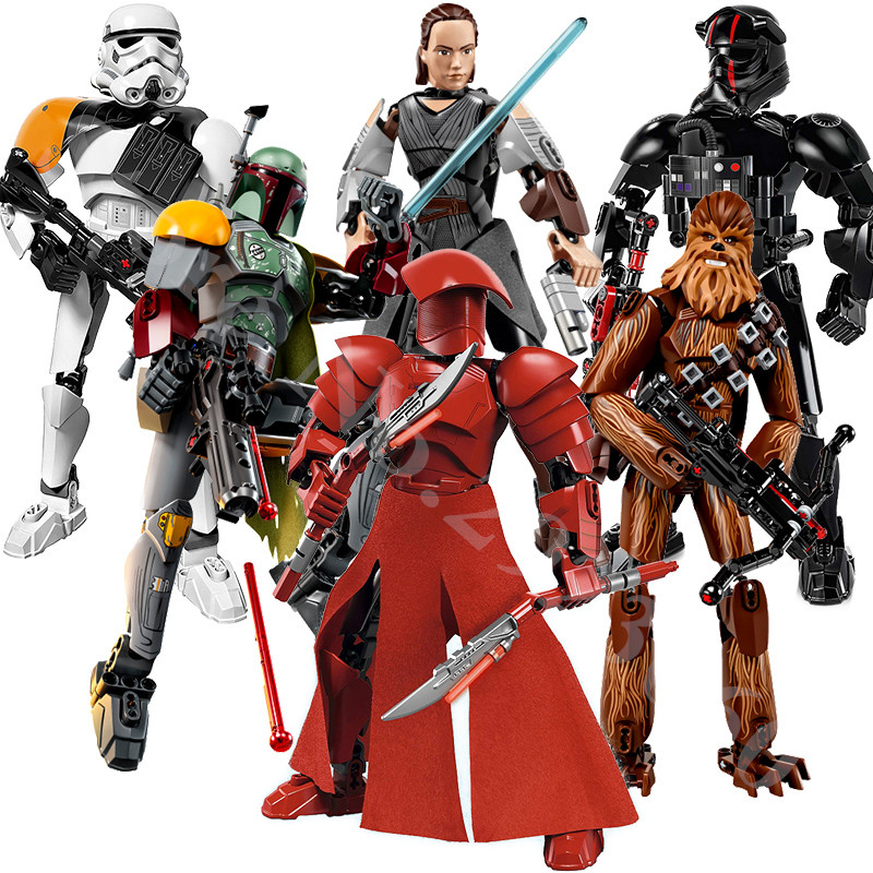sermoido Star Wars Rogue One Toys Jango Phasma Jyn Erso K-2SO Darth Vader General Grievous Figure toy building blocks Toys ksz326 star wars rogue one toys jango phasma jyn erso k 2so darth vader general grievous figure toy building blocks toys