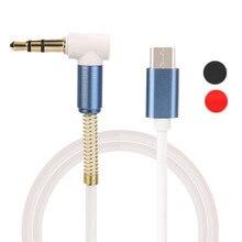 Wholesale 1M USB-C Type C Male To Male 3.5mm Jack Car AUX Cable For Google Pixel/XL Leeco Le Max 2/Pro 3
