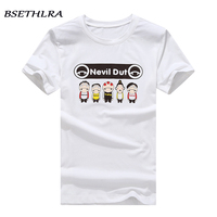 BSETHLRA 2017 T-Shirt Men Summer Spring Hot Sale Casual Tee Shirt Male Funny Printed Design Outwear Hip Hop Asian Size M-3XL B04