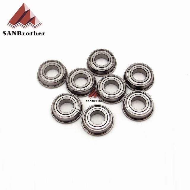 8PCS Hot! UM2 Ultimaker 2 Extended+Ball Bearing F688ZZ 3D Printer 8mm Optical Axis Ball Bearing F688ZZ Wholesale Pirce