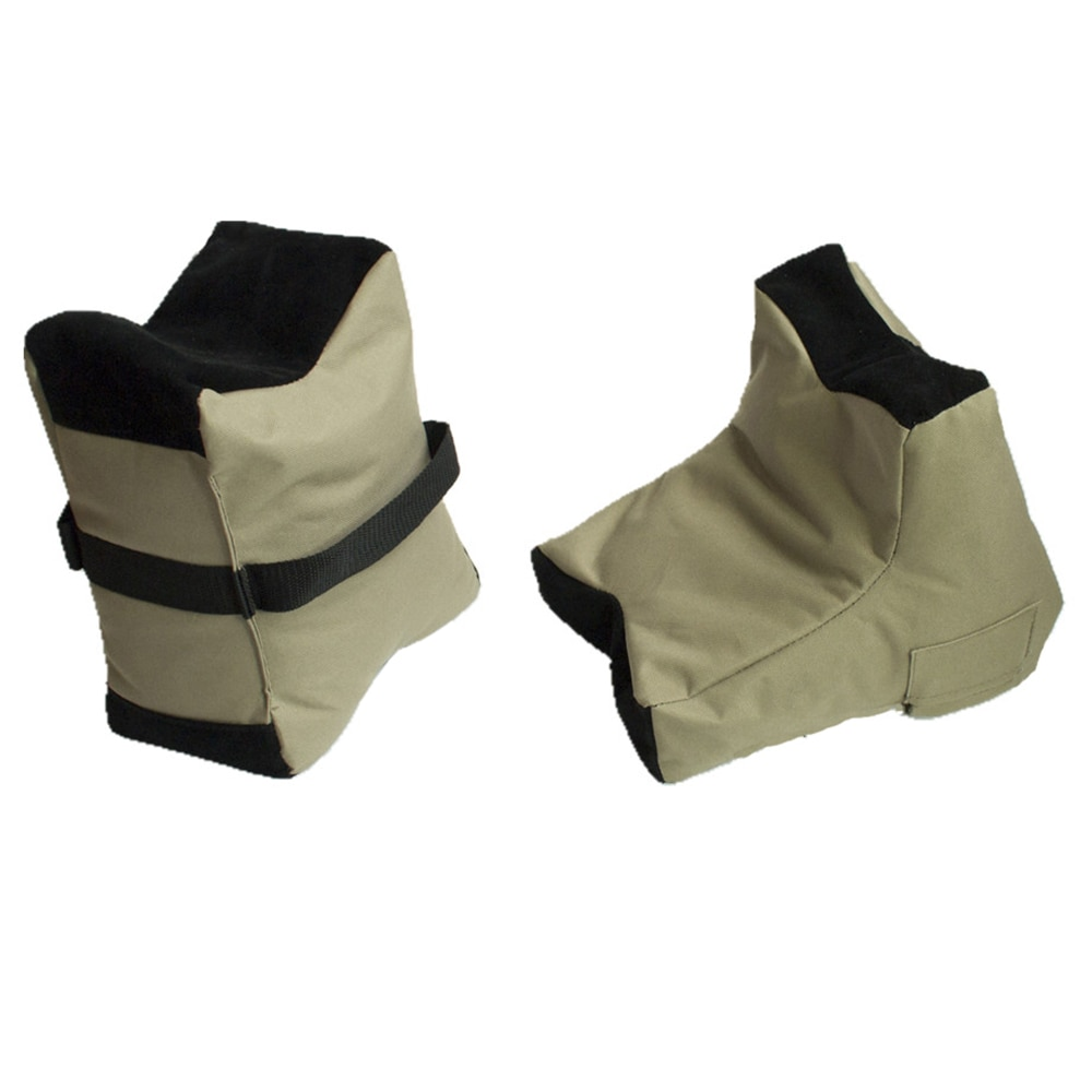 Hearty 2 Unit Shooting Training Stand Bag Rest Target Stand Support Sandbag Outdoor Hunting Gear Target Bag Unfilled Bench Sandbag