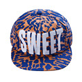 Shocking Show Cotton Snapback Hats Fitted Baseball Cap Sweet Fluorescent Hip Hop Caps