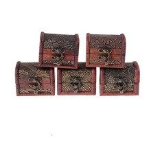 1 Uds caja de joyería de madera clásica popular caja de dulces de regalo de boda organizador de maquillaje cosméticos pendientes anillo organizador