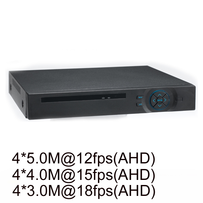 4 Channel 5 0MP NVR 4 Channel 5 0MP AHD CVI TVI CVBS 960H HDMI 5