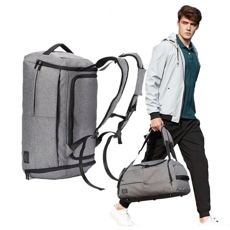 35L Anti-Theft Backpack Gym Bags Men Travel Backpacks Rucksack Sport Handbags Basketball Fitness Training Shoulder Bag XA404WA