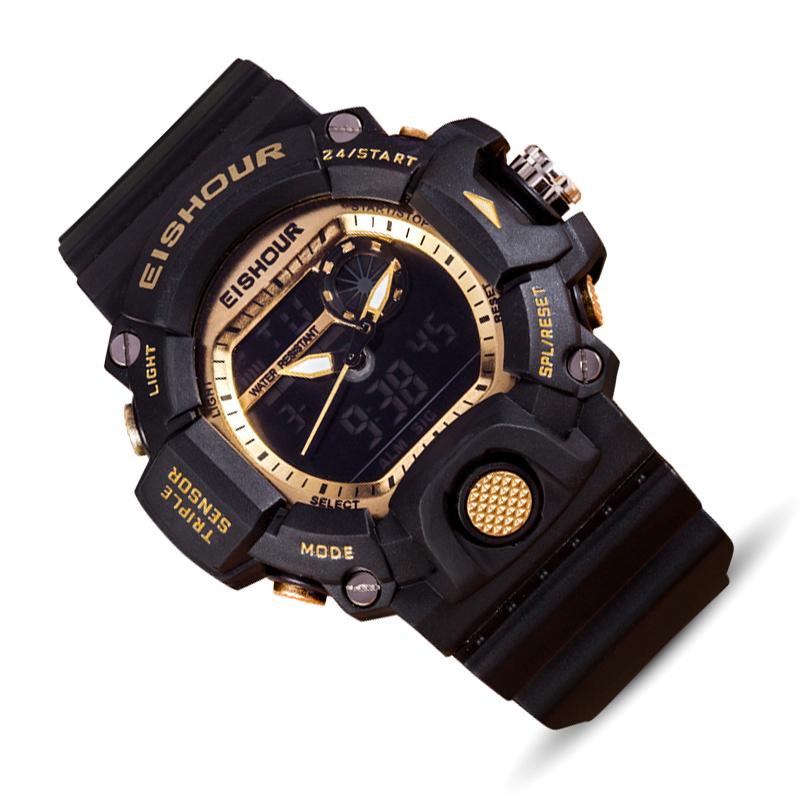 Prix pour Affichage numérique Multiples Temps Relogio Masculino Automatique Montre Étanche Hommes De Mode Montres Qualité Horloge Montre-Bracelet sport