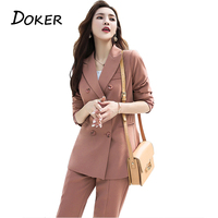 Fashion Elegant Work Business Pants Suits For Women Single Breasted Blazer Jacket And Shorts Two piece Set Female Office Uniform