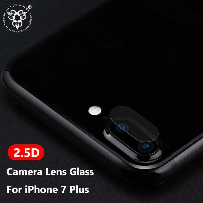 Lainergie 10PCS For iPhone 7 Plus Tempered Glass Back Rear