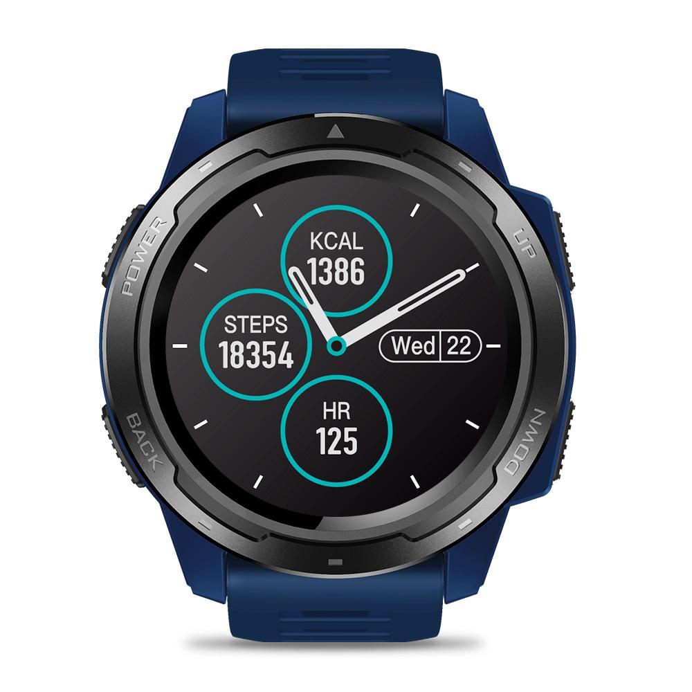 Zeblaze VIBE 5 hombres reloj inteligente deporte Bluetooth Monitor de ritmo cardíaco podómetro reloj de pulsera Digital para hombre para teléfono inteligente