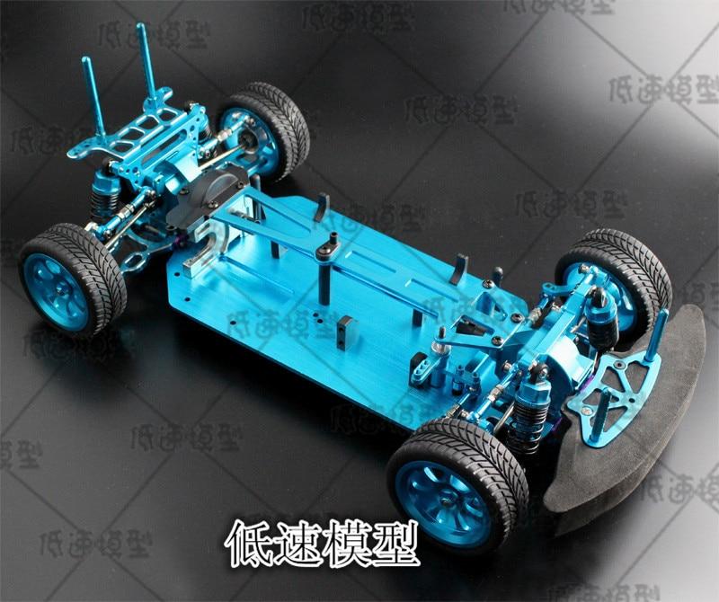 1/10 RC 4WD ของเล่นรถ   แผนที่ Drift รถโลหะรุ่นที่ว่างเปล่ากรอบ Brushless รุ่นไม่จำกัด HSP 94123 PRO-ใน ชิ้นส่วนและอุปกรณ์เสริม จาก ของเล่นและงานอดิเรก บน   2