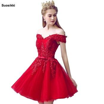 8c77fec9d534529 Product Offer. Сексуальное Красное Кружевное элегантное платье длиной до  колена для выпускного вечера ...