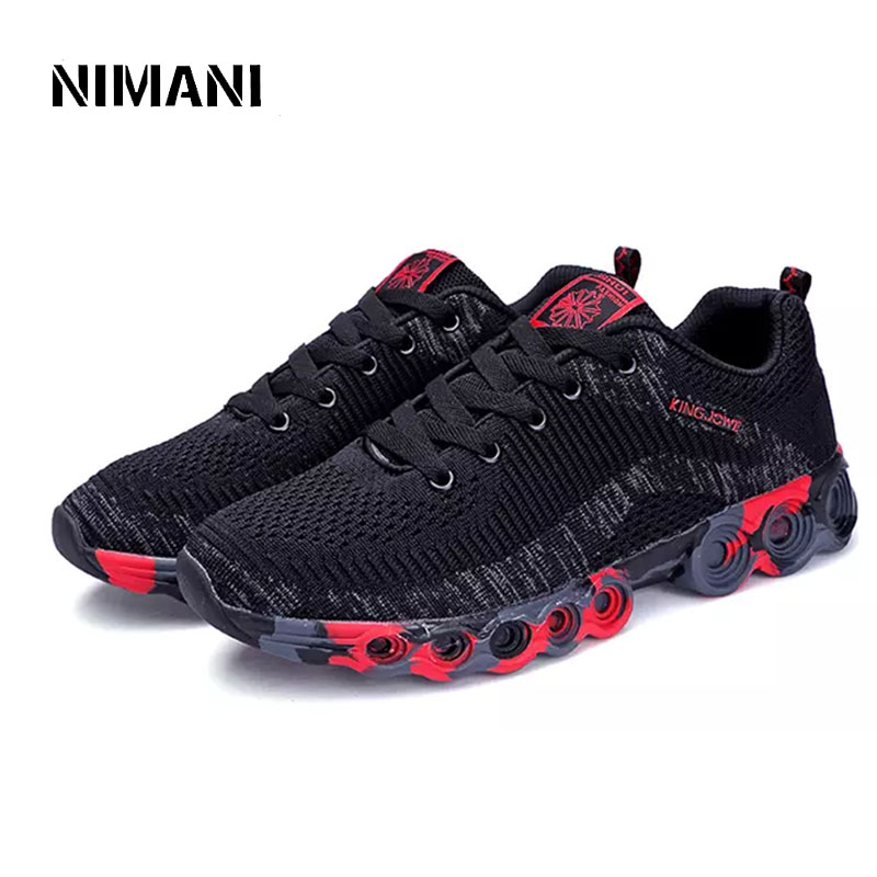 Chaussures Appartements Black red 39 Casual Respirant Taille Sneakers 2018 D'été 44 Mode blue Hommes dq0ZpPZ