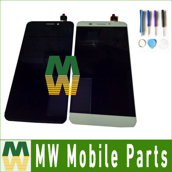 Black White Color 1PC /Lot High Quality For Letv X600 X608 LCD Display+Touch Screen Digitizer Assembly with tools+tape