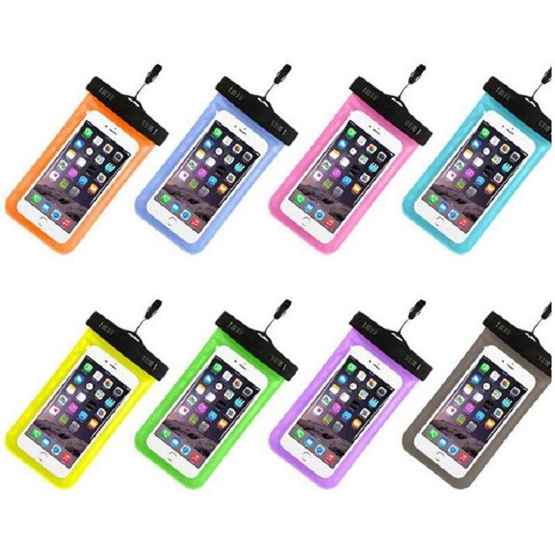 100 teile/los Universal Handytasche Für iPhone X 8 8 Plus 7 7 Plus Samsung Huawei Telefon Fällen eine Einfache Wasserdichte Handy taschen Abdeckung - 2