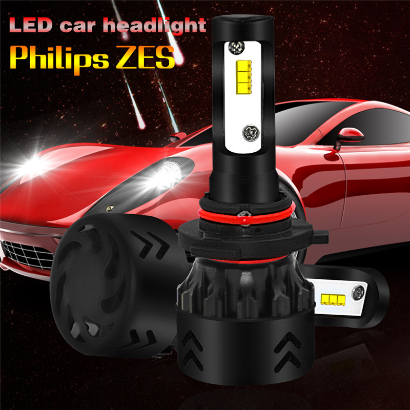 2pcs/set LED H4 H7 H11 9005 9006 80W 8500LM Car Auto Bulb Lamp LED High Quality Headlight Bulbs Super Bright Arc-Beam Kit 9005 blue film super bright car halogen bulb for headlight with high quality drop shipping