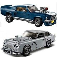 Creator Technic James Bond Aston Martin DB5 Строительные блоки Набор кирпичей 007 автомобили модель детских игрушек совместимые Legoings 10262